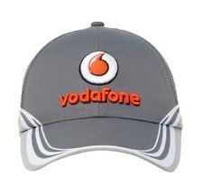 CAP Hat Button Formula One 1 Vodafone McLaren Mercedes F1 Team NEW! 2013 Grey