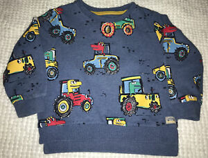 nutmeg baby boys Tractor Jumper Age 2-3 Years