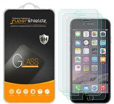 3X Supershieldz for iPhone 6 / 6S Tempered Glass Screen Protector Saver cover