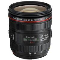 Canon EF 24-70mm f/4 L IS USM Lens 24-70 f4 for 6D 5D Mark III IV 5DS White Box