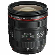 Canon EF 24-70mm f/4 L IS USM Lens 24-70 f4 for 6D 5D Mark III IV 5DS R 1DX 1Ds