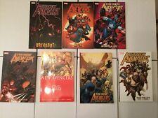 NM The New Avengers Trade Paper Backs Volumes 1-7 TPB