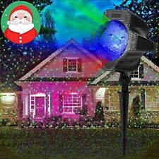 Christmas Star Projector Light LED Moving Outdoor Landscape RGB Lamp