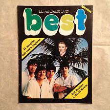 BEST RIVISTA 8/78 BEATLES DAVID BOWIE WHO QUEEN PINK FLOYD DEEP PURPLE ZEPPELIN