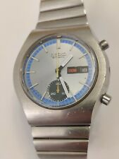 Vintage Seiko 6139-8029 Chronograph Men's Watch serviced works and keeps time