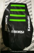 Kawasaki KX 125 / 250 1994 -1998 Ribbed ENJOY Seat cover + PLASTIC KIT