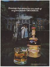 Original 1978 Drambuie- Evenings that memories are made of... Vintage Print Ad