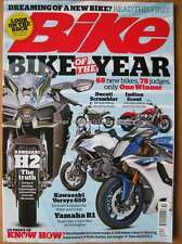 Bike October 2015 Kawasaki H2 Versys 650 Yamaha R1 Scrambler Indian Scout RD350