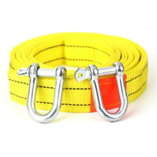 5 Tons Car Tow Cable Towing Strap Rope with Hooks Emergency Heavy Duty