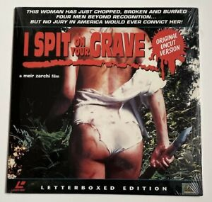 I Spit on Your Grave - Meir Zarchi Uncut Laserdisc Like New Free Shipping