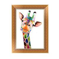 Cartoon Giraffe 5D Diamond Embroidery Painting Cross Stitch Craft HomeDecor EB