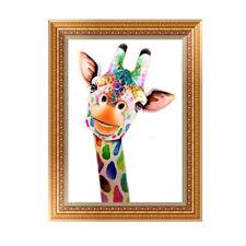Cartoon Giraffe 5D Diamond DIY Embroidery Painting Cross Stitch Craft Decor BB