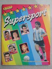 Album Figurine - SUPERSPORT - Panini 1986  completo con poster completo