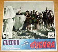 fotobusta originale GUERRA ALLA GUERRA Romolo Marcellini 1948 #1