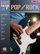 Pop Rock Sheet Music Bass Play-Along Book and Audio 000699677