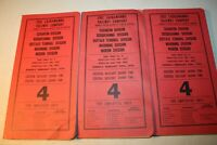Erie Lackawanna Railway Company TimeTable 4 Employees Only Scranton Division 74