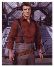 ** SERENITY / FIREFLY ** -NATHAN FILLION- Autographed (8x10) Glossy Reprint