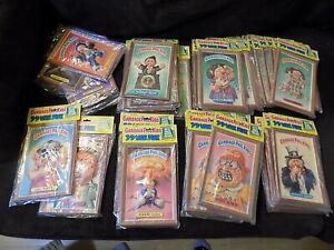 Lot of 40 1986 GPK Garbage Pail Kids 3-D Plaks MIP