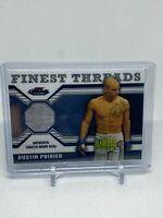 2011 Finest UFC Finest Threads Dustin Poirier Relic Card #R-DP (RC)