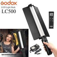 Godox LC500 18W Adjustable Handle LED Light Stick + Remote Control + AC Charger