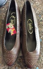 NEW LOTUS LADIES/WOMENS BROWN, LEATHER SHOES, SIZE 4, QUALITY