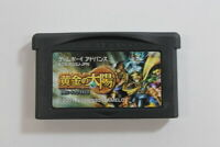 Ougon no Taiyou Nintendo Gameboy Advance GBA Japan Import US Seller MA428