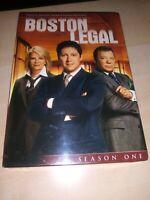 NEW, Boston Legal - Season 1 (DVD, 2009, 5-Disc Set)