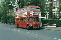 PHOTO London Transport AEC Routemaster RM1000 100BXL at Herne Hill in 1983