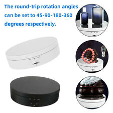360 Degree Electric Rotating Turntable Display Stand for Photography Video