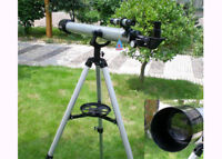 VI Astronomical 900/60mm Refractor Telescope Monocular Scope With Tripod