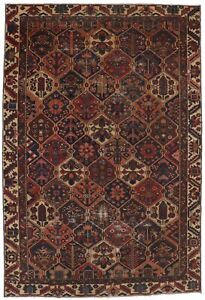 Handmade Antique Tribal Floral 6X9 Vintage Oriental Rug Farmhouse Decor Carpet