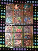 MARVEL METAL 1995 FLEER COMPLETE BASE CARD SET 138 Straight from deck to sleeve!