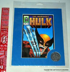 Hulk 340 Laser-Mat Still SEALED Marvel 2000 Wolverine Cover 500 produced!