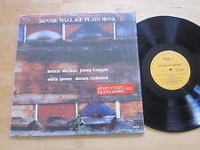 Bennie Wallace Plays Monk LP Shrink Enja Germany Eddie Gomez Ultrasonic VG++/NM