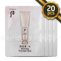 [The history of Whoo] Hydrating Overnight Mask 4ml x 20pcs Sleeping Mask Newest