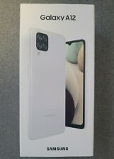 Samsung Galaxy A12 Android Smartphone - 64GB White (Unlocked) *BRAND NEW SEALED*