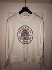 Men's Topman LTD Sweatshirt White Pier Fairground Graphic XL Southend