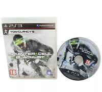 Tom Clancy's Splinter Cell : Blacklist (Sony PlayStation 3, 2013) Free P&P