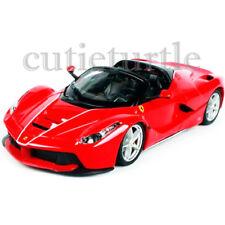 Bburago Ferrari Race & Play LaFerrari Aperta 1:24 Diecast Model Car 26522 Red