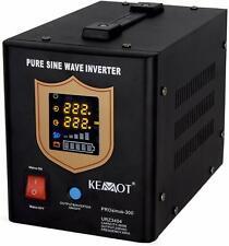 Notstromversorgung KEMOT URZ3404B 12V 230V 500VA/300W, schwarz