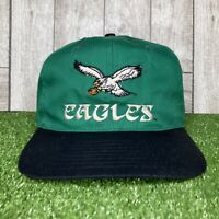 Vintage Eastport Team NFL Football Philadelphia Eagles Snapback Hat Cap