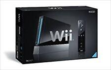 NEW Nintendo Wii Black Console ( Manufacturer production end ) RVL-S-KJ Unopend