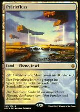 Präriefluss FOIL / Prairie Stream | NM | Prerelease Promo | GER | Magic MTG