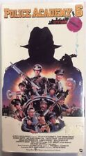 Police Academy 6 City Under Siege VHS 1989 Bubba Smith M Winslow VHSshop.com