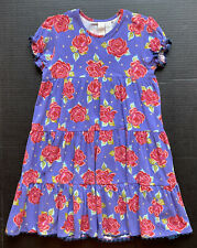 Matilda Jane 8 Paint By Numbers American Beauty Rose Dress ~Fall Bts~