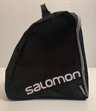Salomon Black Ski Boot Bag With Junior Nationals 2015 Patch EUC