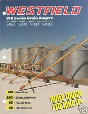 Farm Equipment Brochure - Westfield - WR 60 70 80 100 - Grain Auger  (F2922)