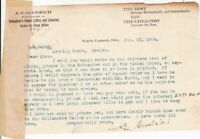 U.S. A.C. Goodrich Oregon 1904 Manfs.Device Re Stack Dryers Letter Ref 41937