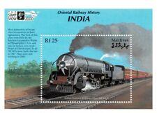 VINTAGE CLASSICS - Maldives 2445 - Oriental Railway History India - S/S - MNH