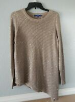 Apt. 9 Women's Long Lined Long Sleeve Top Size M